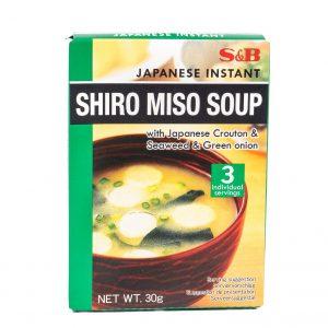 S&B Japanse instant witte miso soep
