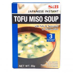 S&B Japanse instant tofu miso soep