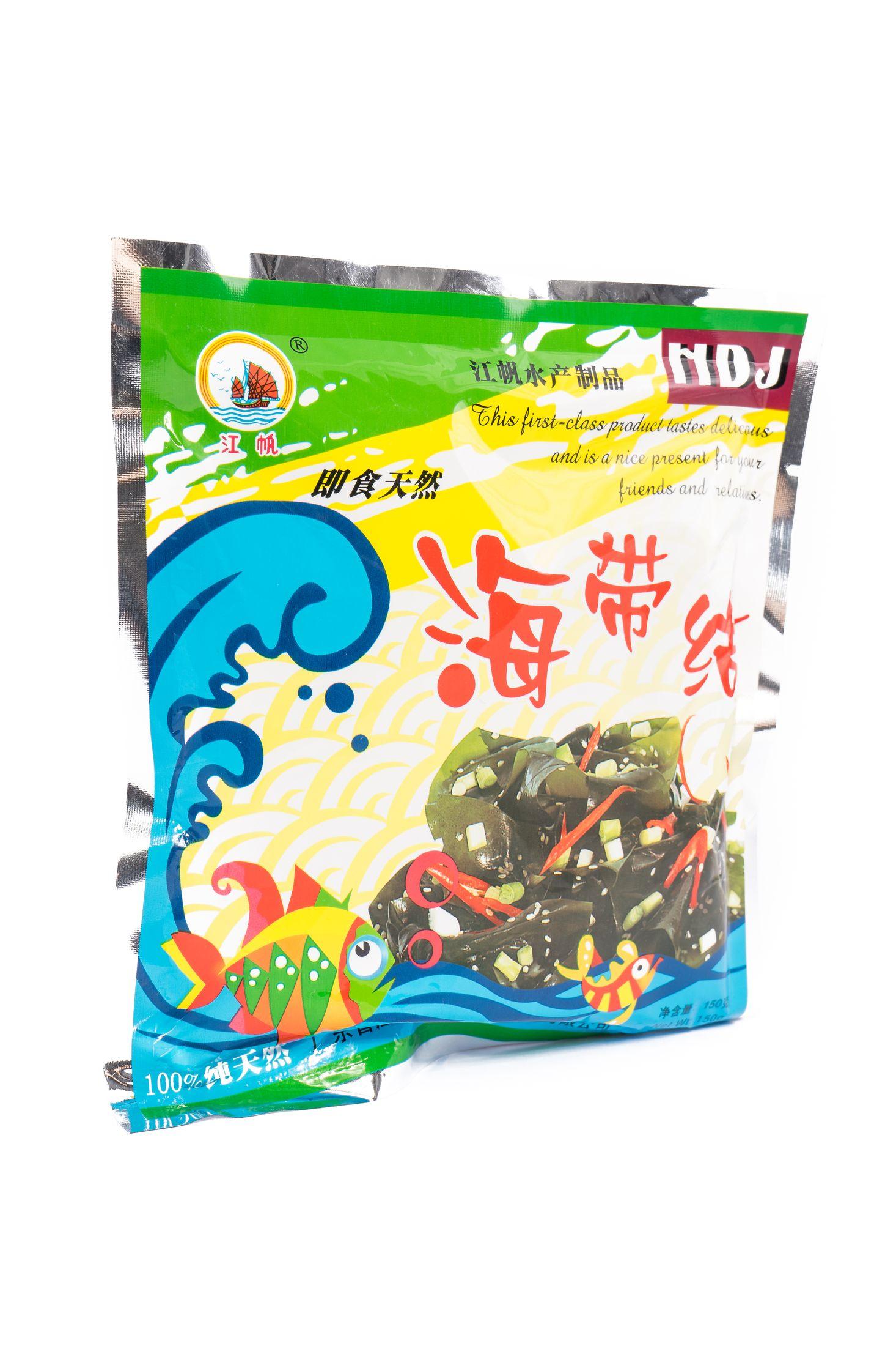Natuurlijke kelp salade