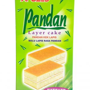 Apollo Cake met pandan smaak