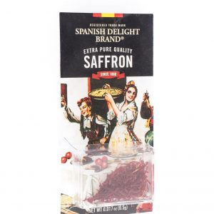 Spanish Delight Brand  Saffraan