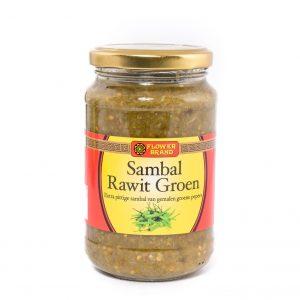 Flower Sambal rawit groen