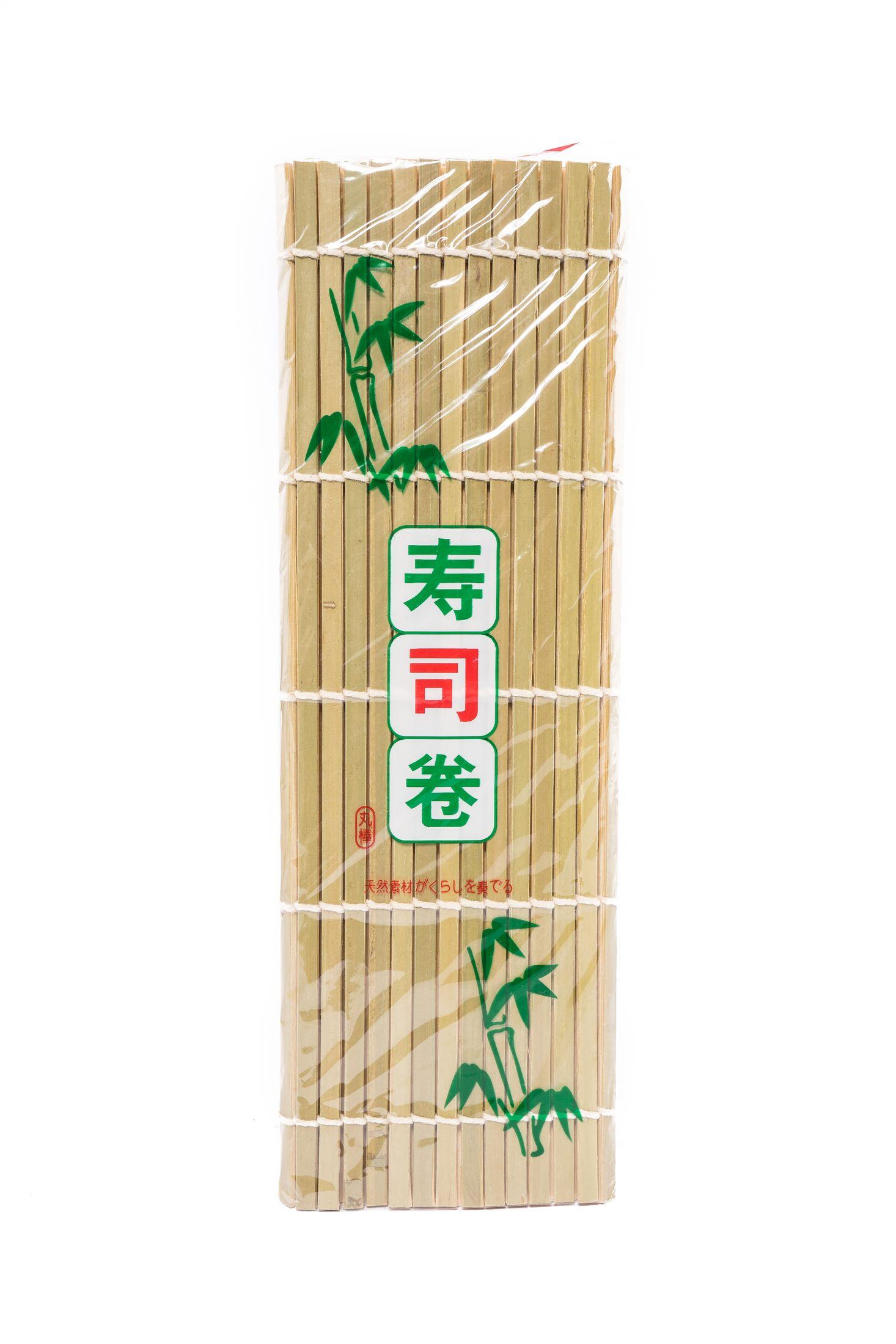Groene bamboe sushi mat (24x24cm)