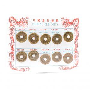 Chinese oude munten set