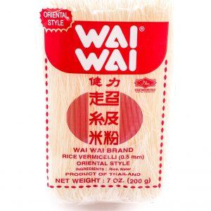 Wai Wai Rijstvermicelli Orientaalse stijl (0,5mm)