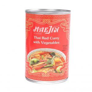 Mae Jin Thaise rode curry met groenten