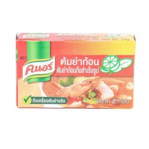 Knorr Bouillonblokjes tom yum (pittig/zuur)