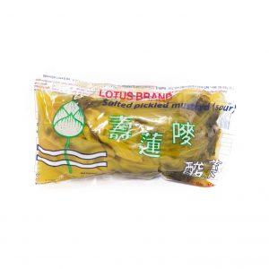 Lotus Gezouten bruine mosterdkool (zuur)
