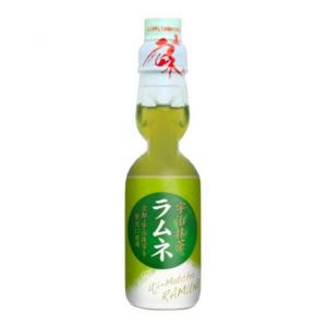 Hatakosen Ramune soda matcha smaak