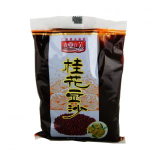 Shi Quan Shi Mei Rode bonen pasta met osmanthus