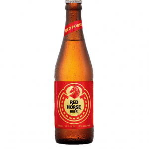 Red Horse Red horse bier 8% ALC. (紅馬啤酒)