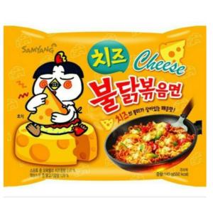 Samyang Roergebakken noedels pikante kip met kaas smaak