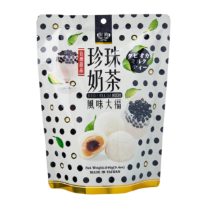 Royal Family Mochi bubble tea flavour