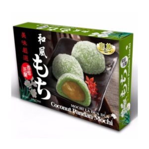 Royal Family Mochi coconut pandan flavour