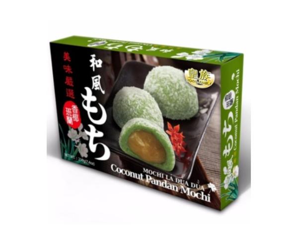 Royal Family Mochi coconut pandan flavour