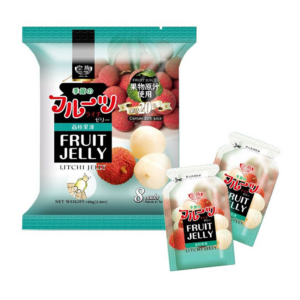 Royal Family Fruit jelly lychee flavor