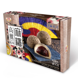 Royal Family Red bean mochi covered sesame powder Korea style