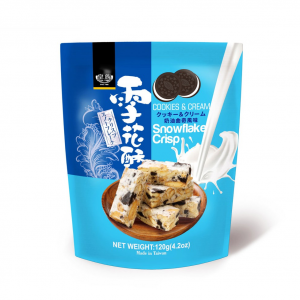 Royal Family Sneeuwvlok crisp met koekjes en room smaak