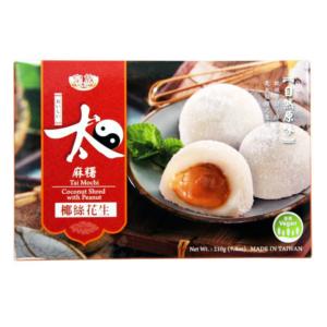 Royal Family Tai mochi peanut with coconut shred (皇族太极麻糬椰丝花生)