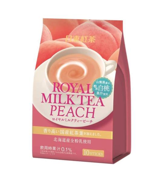 Nitto Royal melkthee perzik smaak