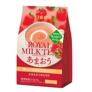 Nitto Royal melkthee aardbei smaak
