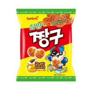 Samyang Chang gu snack met honing