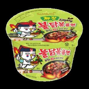 Samyang Bowl noodle hot chicken jjajang flavor