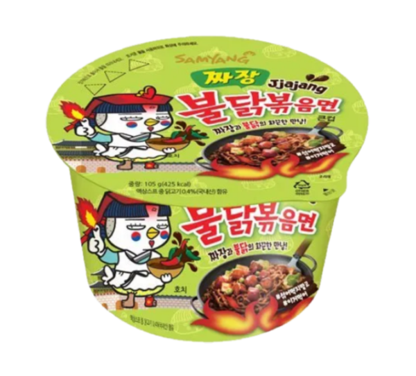 Samyang Bowl noodle hot chicken jjajang flavor