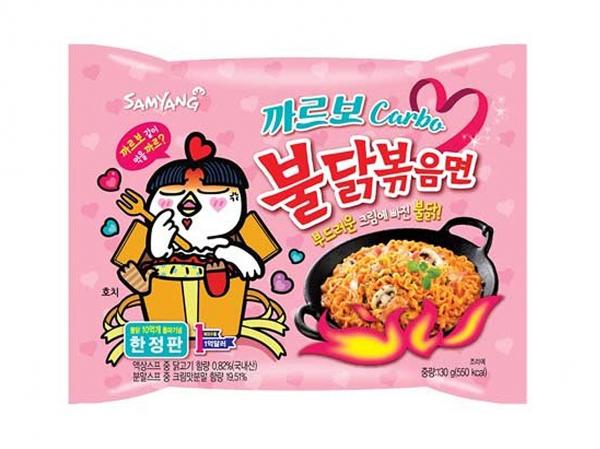 Samyang Hot chicken carbo flavor ramen