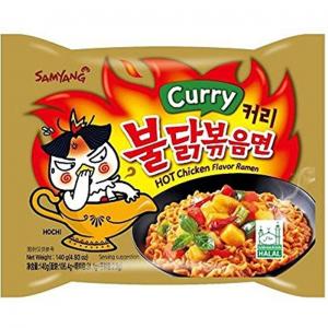 Samyang Noedels pikante kip curry smaak