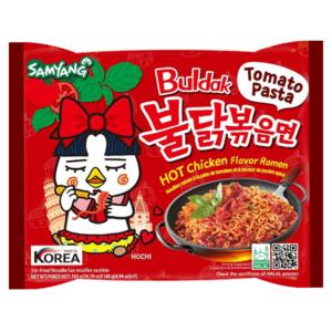 Samyang Hot chicken flavor ramen tomato pasta
