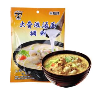Santapai Sauce for noodle soup rib flavour (伞塔牌 大骨浓汤面调料包)