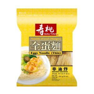 Sau Tao Eiernoedels dun (寿桃 袋裝全蛋麵 (幼))