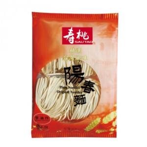 Sau Tao Yeung chung noedels (寿桃 陽春麵)