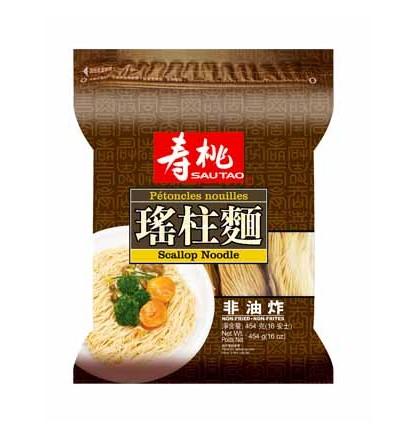 Authentieke jacobsschelp noedels (寿桃 袋裝瑤柱麵)