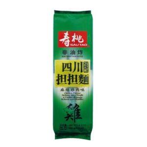 Sau Tao Pikante Sichuan noedels kip smaak (寿桃 四川擔擔麵 麻辣雞肉味)