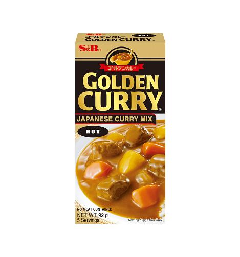 Golden curry sausmix (heet)