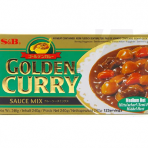 S&B Golden curry sausmix (medium heet)