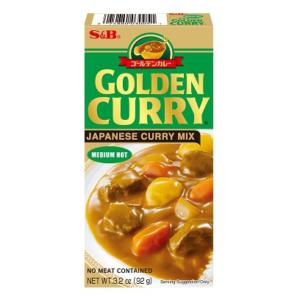 S&B Golden curry sausmix (medium heet)