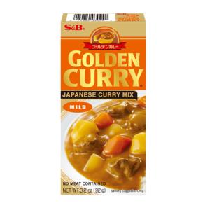S&B Golden curry sausmix (mild)