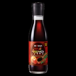 Sempio Spicy seasoned soy sauce for stir-fry