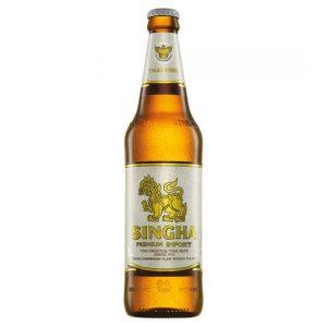 Singha Singha beer 5% ALC. (泰國勝獅啤酒)