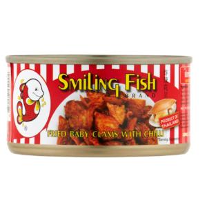 Smiling Fish Gebakken venusmosselen met chili (70g)
