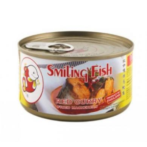 Smiling Fish Makreel in rode curry