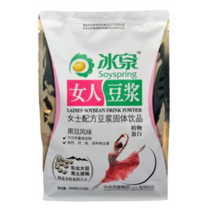 Soyspring Sojadrank poeder (zwarte sojaboon aroma)