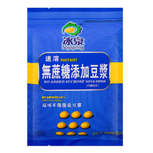 Soyspring No added sucrose soya drink ( 冰泉 无蔗糖豆浆)