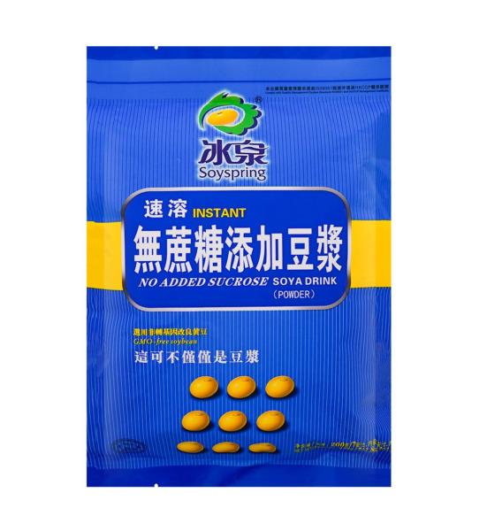 Soyspring No added sucrose soya drink ( 冰泉 无蔗糖豆浆)