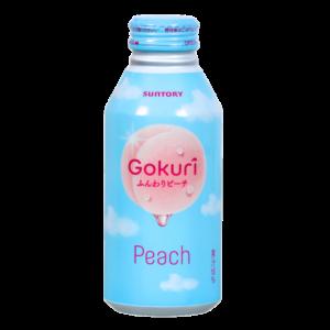 Suntory Gokuri peach fruit juice