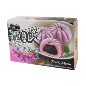 Taiwan Dessert  Fruit mochi - blueberry (宝岛Q点子 鲜果大福藍莓)