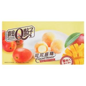 Taiwan Dessert Cacao mochi mango flavor cream